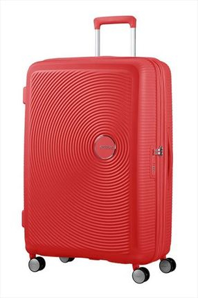 Maleta American Tourister SOUNDBOX spiner expandible 77 cm coral red