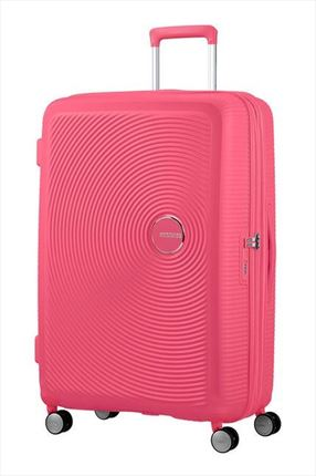 MALETA AMERICAN TOURISER  SOUNDBOX SPINNER EXPANSIBLE 77CM HOT PINK