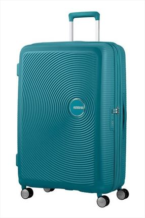 Maleta American Tourister SOUNDBOX spiner expandible 77 cm jade geen