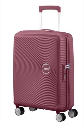 Maleta American Tourister SOUNDBOX spiner expandible 55X40X20/23 cm Dark Burgundy