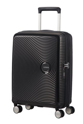 Maleta American Tourister SOUNDBOX spiner expandible 55X40X20/23 cm bass black