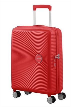 Maleta American Tourister SOUNDBOX spiner expandible 55X40X20/23 cm coral red