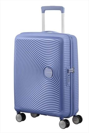 American Tourister SOUNDBOX spiner expandible 55X40X20/23 cm demim blue