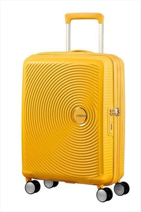 Maleta American Tourister SOUNDBOX spiner expandible 55X40X20/23 cm Yelow