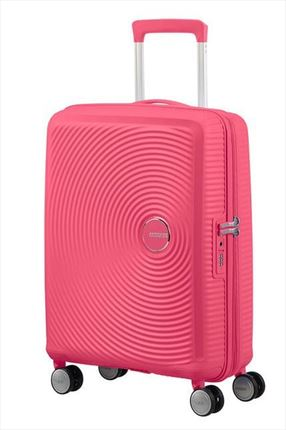 Maleta American Tourister SOUNDBOX spiner expandible 55X40X20/23 cm hot pink