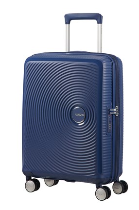 Maleta American Tourister SOUNDBOX spiner expandible 55X40X20/23 cm Navy