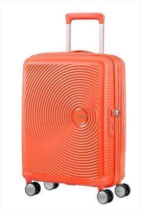 Maleta American Tourister SOUNDBOX spiner expandible 55X40X20/23 cm Spicy Peach