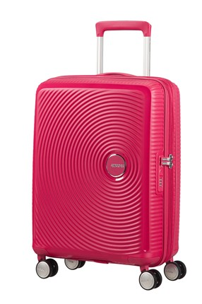 MALETA AMERICAN TOURISTER SOUNDBOX SPINNER EXPANSIBLE 55X40X20/23CMLIGHTNING PINK