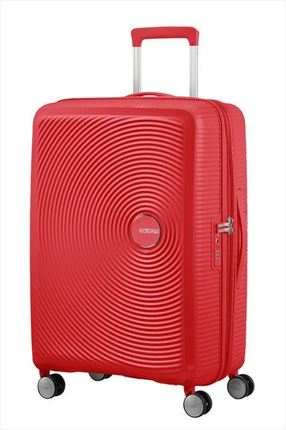 American Tourister SOUNDBOX spiner expandible 67 cm coral red
