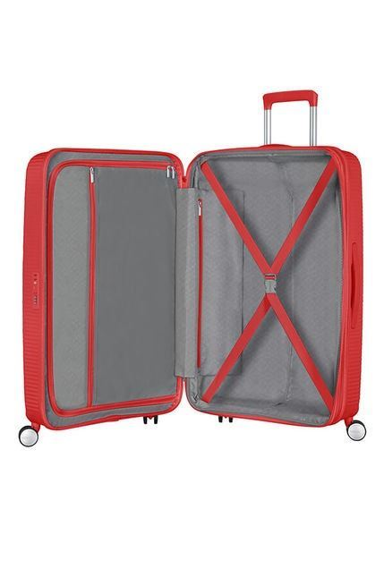 Soundbox Tourister Expansible Red Coral Spinner American 67cm Okn0wPX8