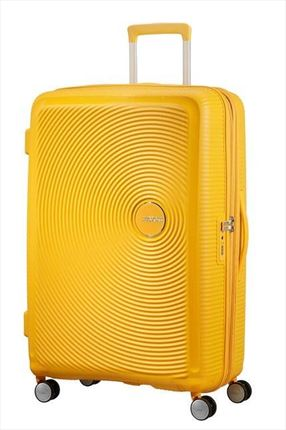 Maleta American Tourister SOUNDBOX Spiner expandible 67 cm golden yellow