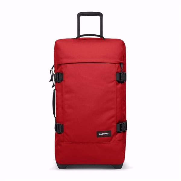 BOLSA RUEDAS EASTPAK Tranverz M Apple Pick Red