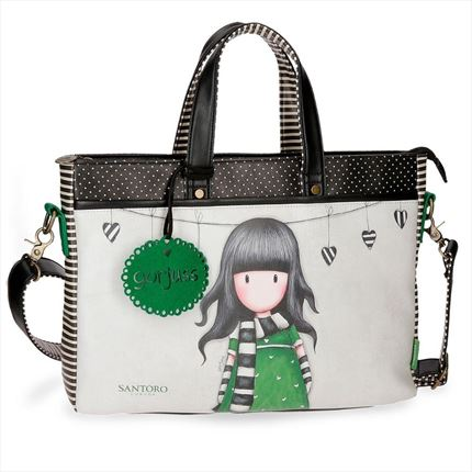 BOLSO GORJUSS PARA ORDENADOR  THE SCARF 15,6