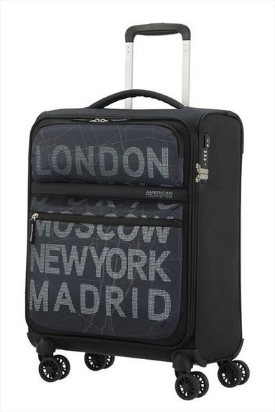 Maleta American Tourister MATCHUP 55 cm  4R city map