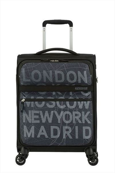 Maleta American Tourister MATCHUP 55 cm  4R city map (2)