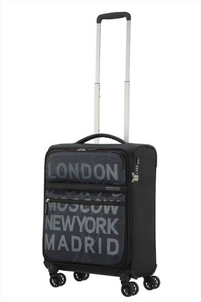 Maleta American Tourister MATCHUP 55 cm  4R city map (4)