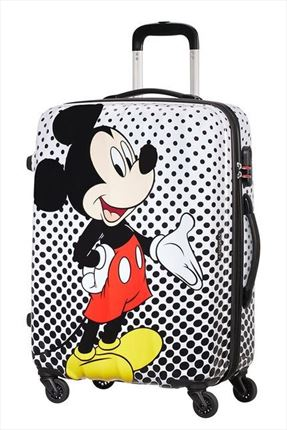 MALETA MEDIANA Mickey Mouse Polka Dot