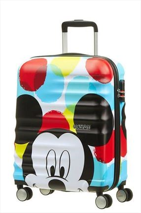 AMERICAN TOURISTER  MICKEY CLOSE-UP   de 55CM