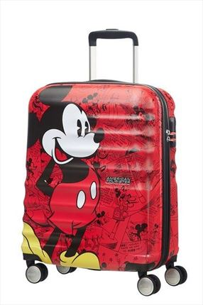 AMERICAN TOURISTER   MICKEY COMICS RED de55CM