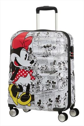 MALETA 	MINNIE COMIICS WHITE