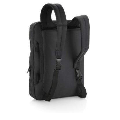 Maletin- mochila GABOL Industry para portatil 15,6 Marron (2)