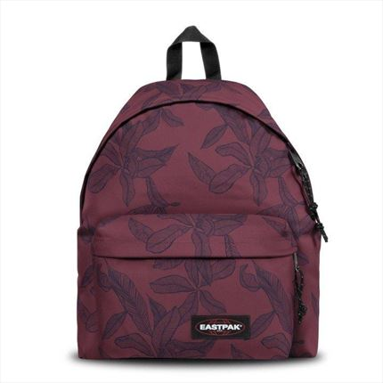 EASTPAK MOCHILA Padded Pak'r® Leaves Merlot