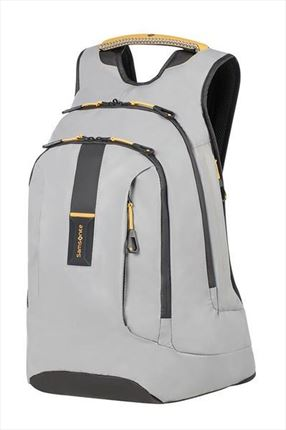 SAMSONITE  PARADIVER LIGHT Mochila  para portátil L+ 39.6cm/15.6inch Grey/Yellow