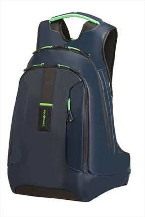 SAMSONITE MOCHILA  PARADIVER LIGHT  para portátil L+ 39.6cm/15.6inch Night Blue/Fluo Green