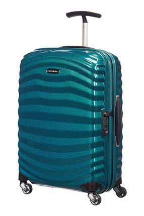 SAMSONITE LITE-SHOCK Spinner 55cm Petrol Blue
