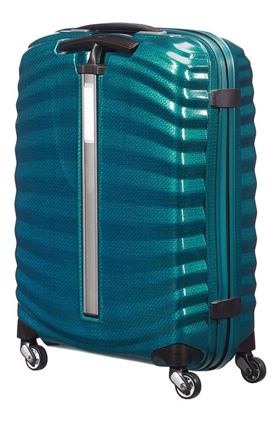 SAMSONITE LITE-SHOCK Spinner 55cm Petrol Blue (2)