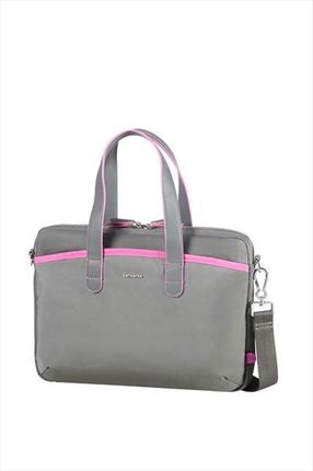 "MALETIN SAMSONITE NEFTI  13.3"" rock grey/fuchsia"