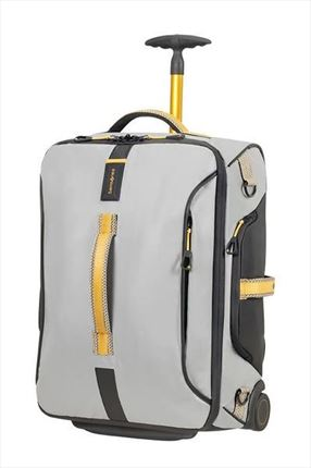 PARADIVER LIGHT Bolsa de viaje con ruedas 55cm Grey/Yellow
