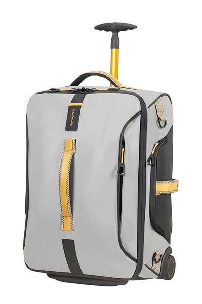 SAMSONITE PARADIVER LIGHT Bolsa de viaje con ruedas 55cm Grey/Yellow