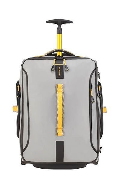 SAMSONITE PARADIVER LIGHT Bolsa de viaje con ruedas 55cm Grey/Yellow (3)