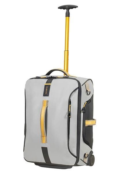 SAMSONITE PARADIVER LIGHT Bolsa de viaje con ruedas 55cm Grey/Yellow (5)