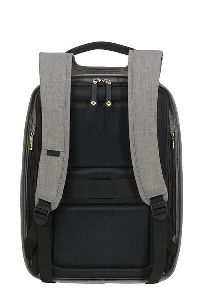"Samsonite  SECURIPAK M  mochila antirrobo para portatil de 15.6"" gris (2)"