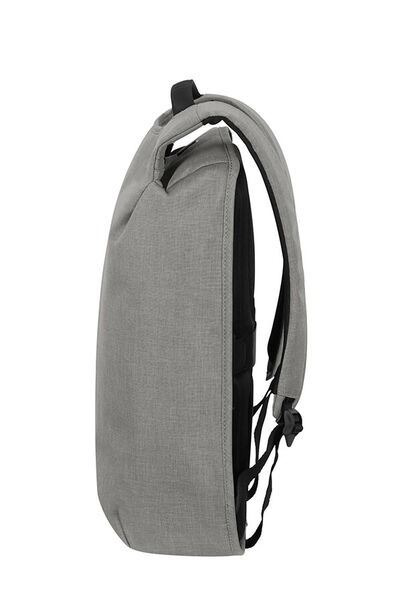 "Samsonite  SECURIPAK M  mochila antirrobo para portatil de 15.6"" gris (3)"
