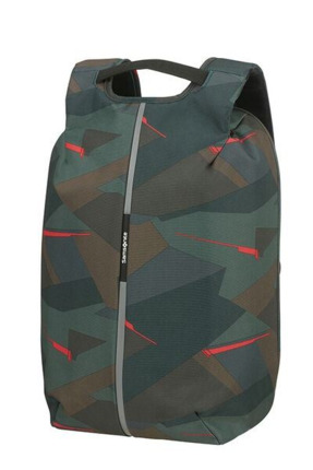 "Samsonite  SECURIPAK M  mochila antirrobo para portatil de15.6""Deep Forest Camo"