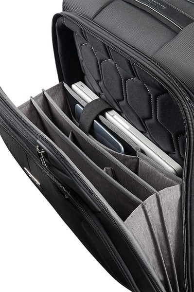 SAMSONITE XBR Mobile Office Spinner 55cm/20inch Negro (2)