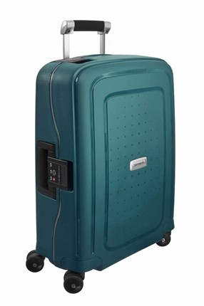 SAMSONITE S'CURE DLX Spinner 55cm Metallic Green