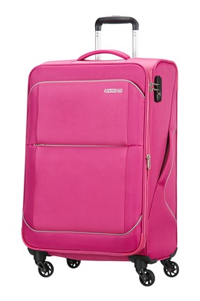 AMERICAN TOURISTER SUNBEAM SPINNER EXPANSIBLE 69CM SUMMER ROSE